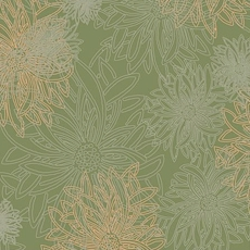 Dusty Olive From Floral Elements By AGF Studio