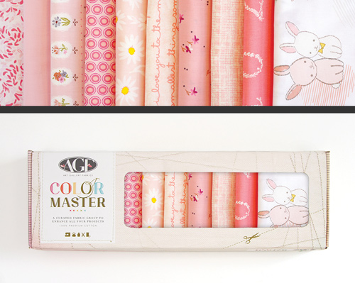 AGF Colormaster Fat Quarter Collectors Set - Rose Parfait Edition