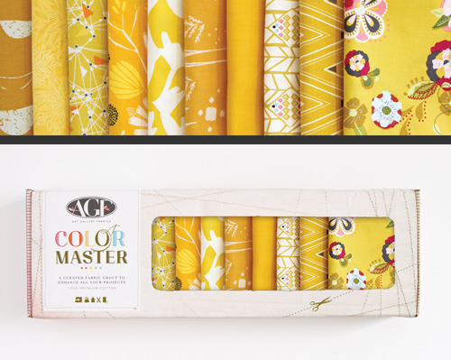 AGF Colormaster Half Yard Collectors Set - Gold Leaf Edition
