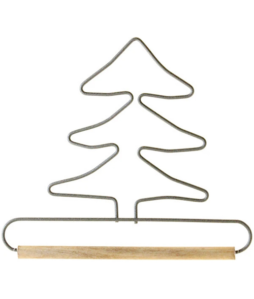 4in Tree Wire Hanger With 0.25in Dowel