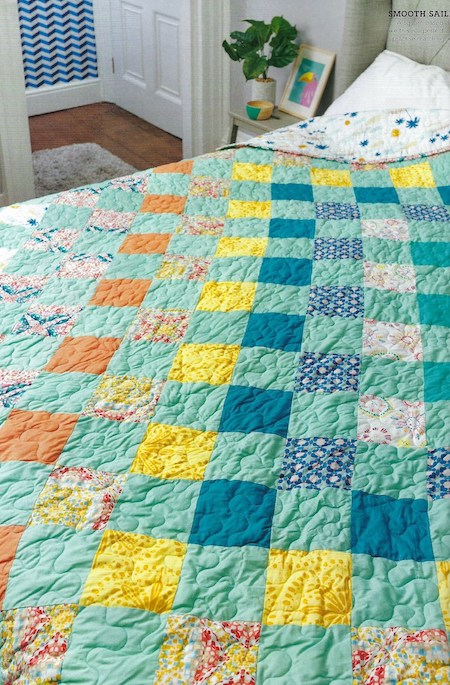 Love Patchwork & Quilting Issue 73 - Sunkissed Quilt