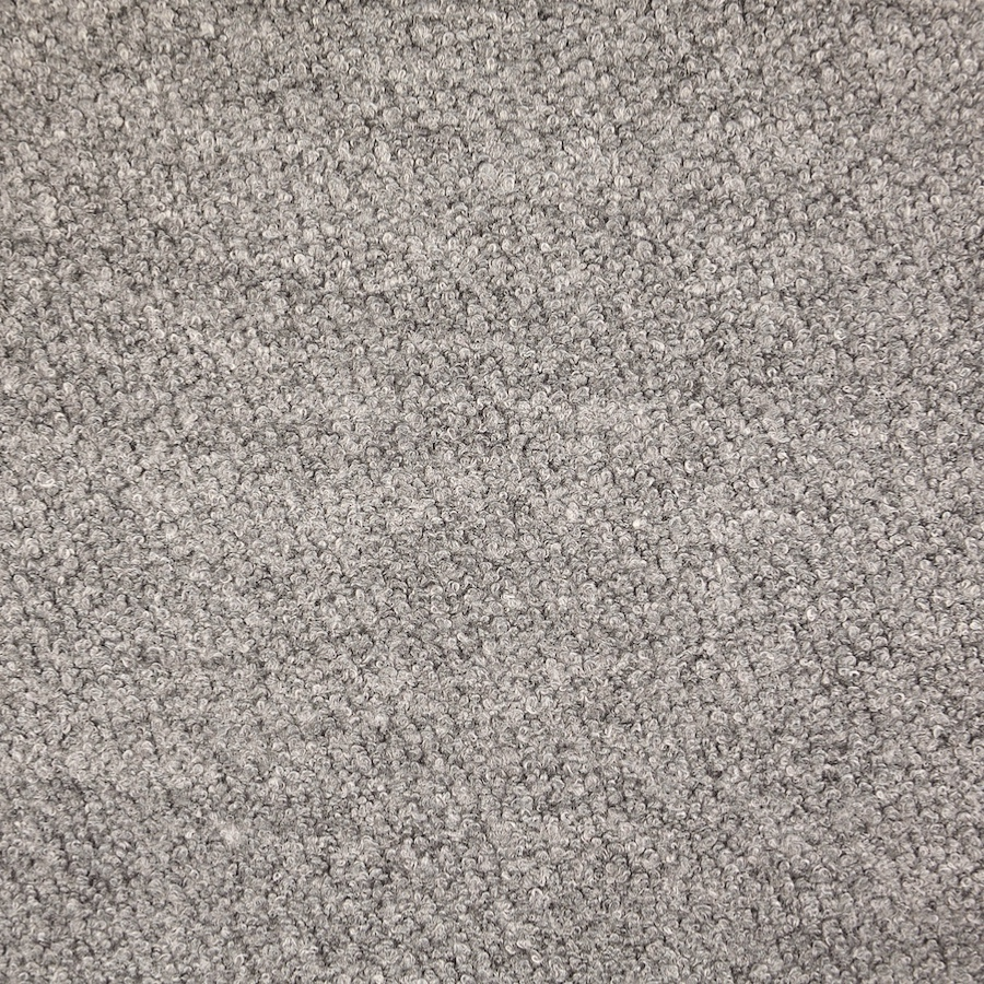 Pembroke Light Grey Wool Blend Boucle Coat Fabric