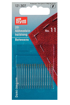 Prym Hand Sewing Needles Betweens 11 With Gold Eye 20pcs