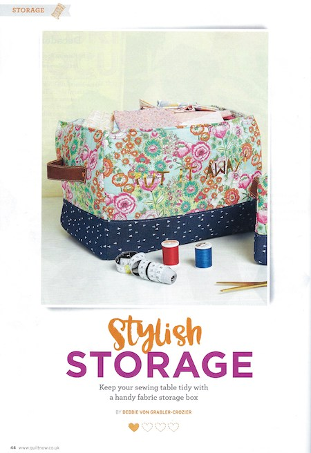 Quilt Now Issue 65 - Stylish Storage