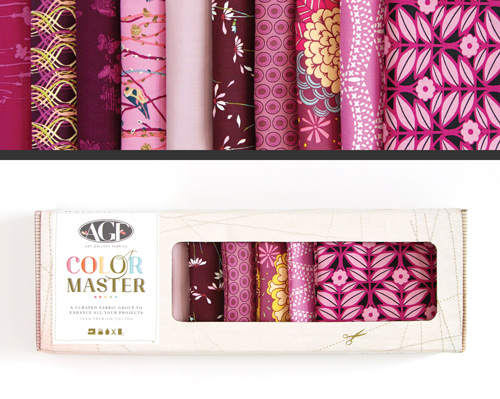 AGF Colormaster Fat Quarter Collectors Set - Vibrant Violet Edition