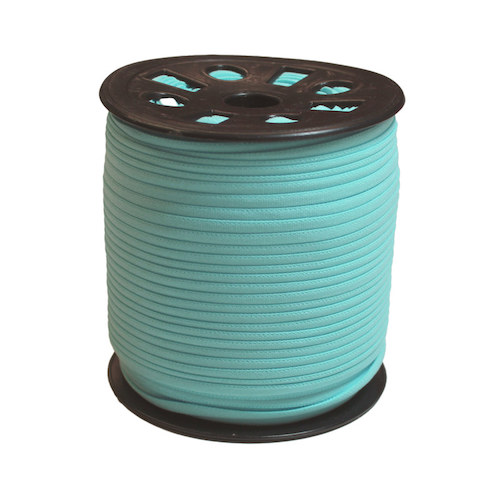 Light Blue Narrow Banded Elastic - 4mm x 92m