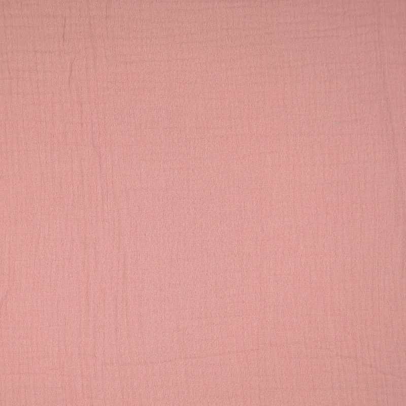 Dusky Pink Double Gauze from Sakata by Modelo Fabrics