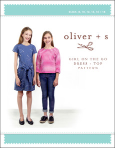 Oliver + S Pattern - Girl on the Go Dress + Top (8 - 18 yrs)