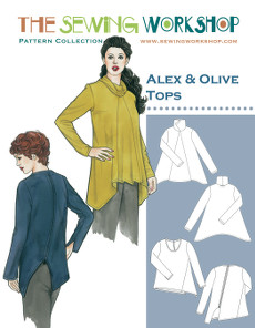 Alex & Olive Tops Pattern By The Sewing Workshop