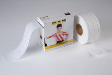 Vilene Waist Shaper / Bag Handle Fuse & Fold 25mm X 50m White