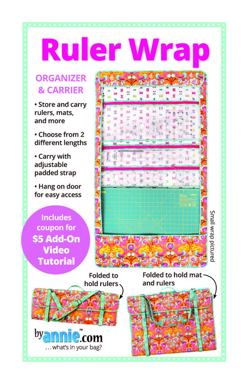 Ruler Wrap Bag Pattern By Annies