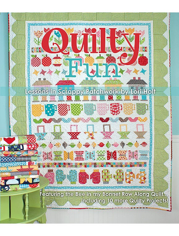 Quilty Fun - Lessons In Scrappy Patchwork By Lori Holt Book