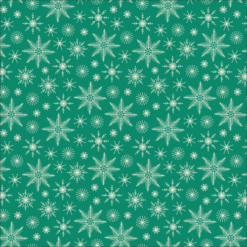 Snowfall Green from Christmas Past by Lori Rudolph