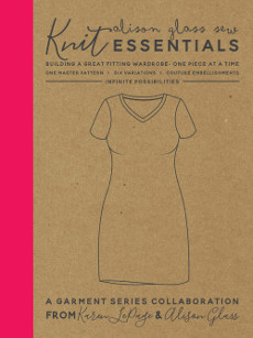 Knit Essentials Dress Pattern By Alison Glass