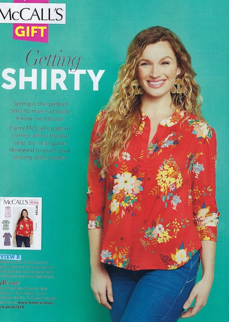 Love Sewing Issue 66 - Rayon Blouse