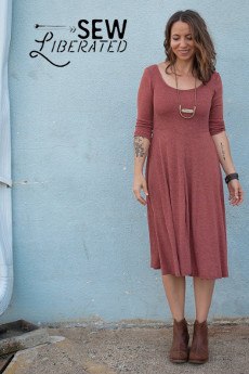 Stasia Dress and Top Sewing Pattern - Sew Liberated