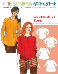 Odette & Ivy Tops Pattern By The Sewing Workshop