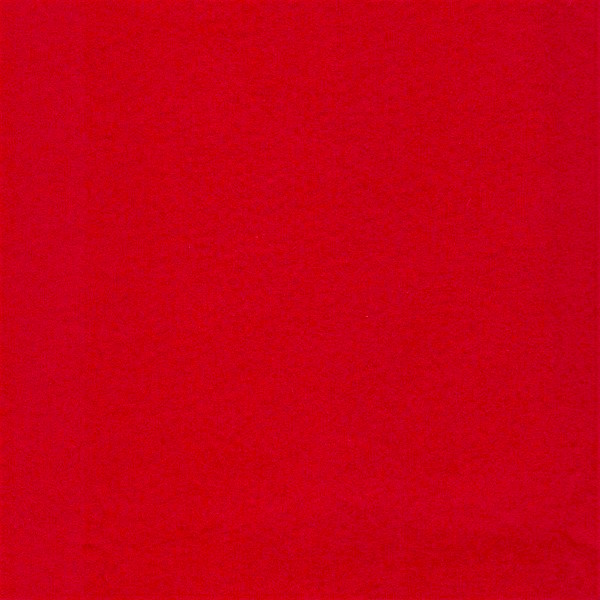 Woolfelt 35% Wool / 65% Rayon 36in Wide / Metre - Rocking Red