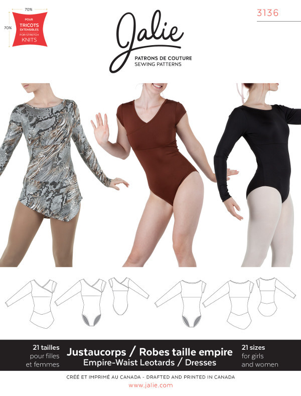 Leotards and Dresses by Jalie