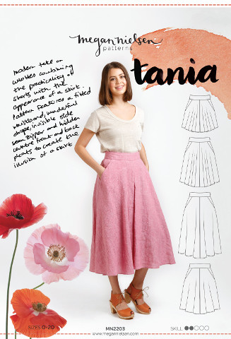 Tania Culottes Pattern - Megan Nielsen Patterns