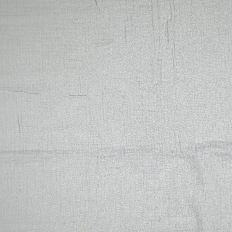 Light Grey Double Gauze from Sakata by Modelo Fabrics