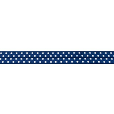 Dark Blue Foldover Elastic Spot - 16mm X 25m