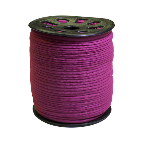 Dark Purple Narrow Banded Elastic - 4mm x 92m