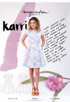 Karri Dress Pattern - Megan Nielsen Patterns
