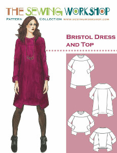 Bristol Dress & Top Pattern By The Sewing Workshop