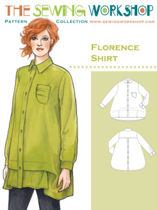 Florence Shirt Pattern By The Sewing Workshop