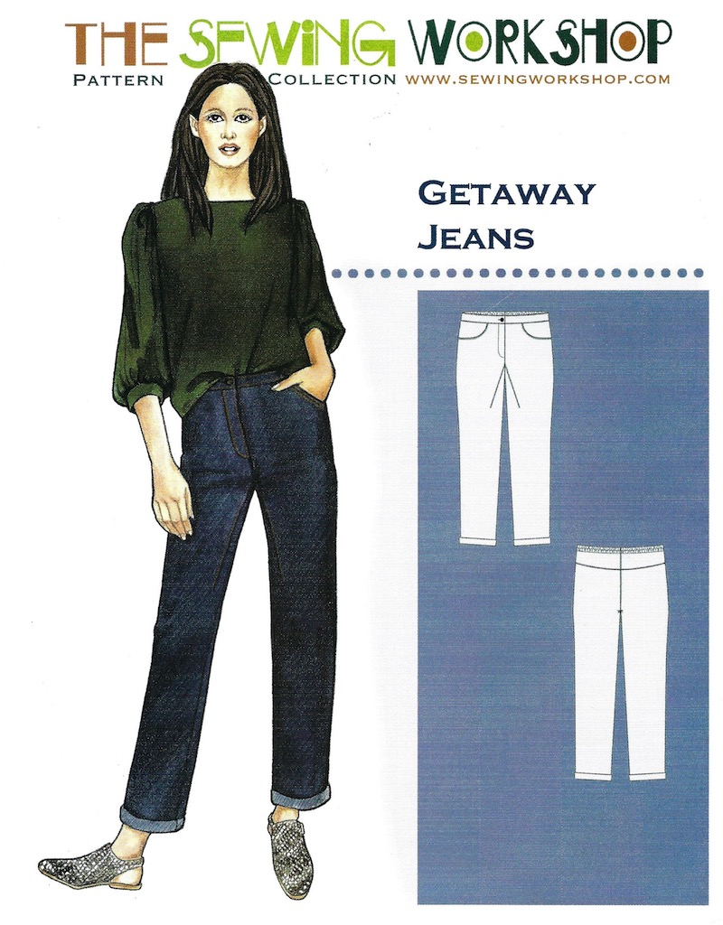 Getaway Jeans Pattern by The Sewing Workshop