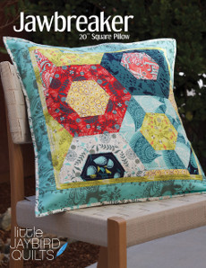Jawbreaker Pillow - Jaybird Quilts Patterns