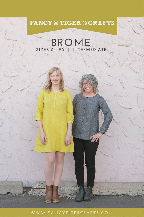 Brome Pattern - Fancy Tiger Crafts Patterns