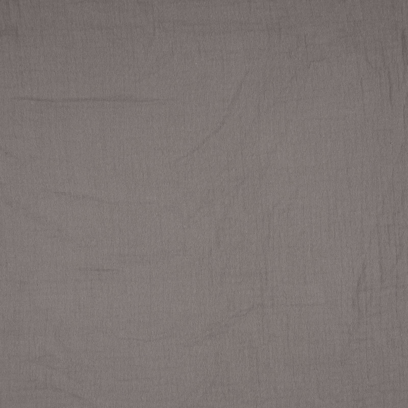 Dark Grey Double Gauze from Sakata by Modelo Fabrics